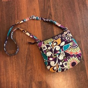 {Vera Bradley} Saddle Hipster Crossbody